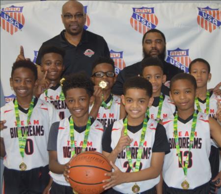 Middle Atlantic District AAU Boys Basketball (Design, Hosting