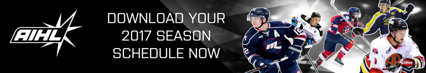 Download the AIHL Schedule