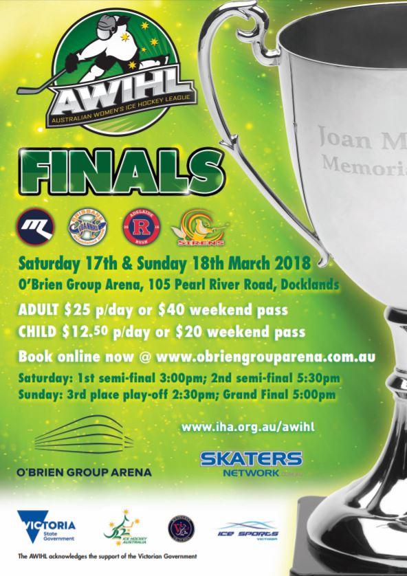 AWIHL Finals flyer